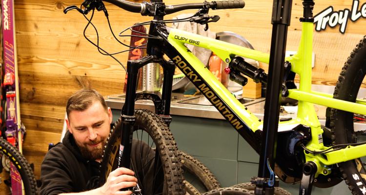Entretien atelier magasin Vélo, VTT, Enduro, Descente, DH, Trail, Gravel, Route Oupy Bike