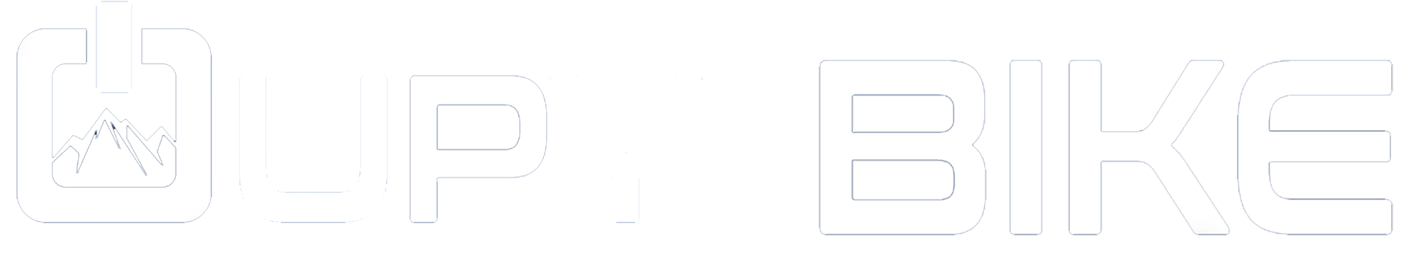 Logo d'Oupy Bike en version une ligne et couleur noir.